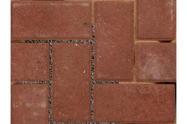 Bradstone - Block Paving - Driveway Infilta - Red - 200 x 100mm