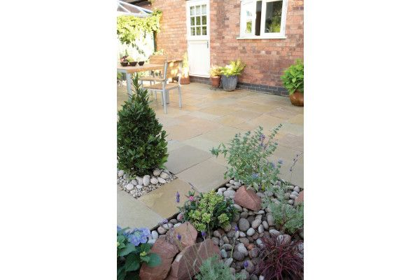 Bradstone - Natural Limestone Paving - Honeymede - Patio Kit