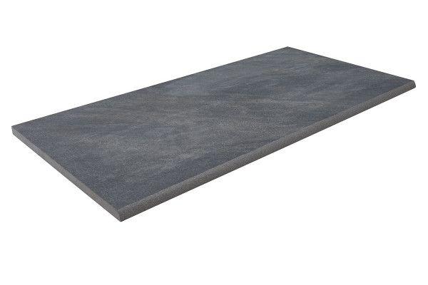 Bradstone - Mode Porcelain Riven - Step Tread - Dark Grey - 900 x 450mm