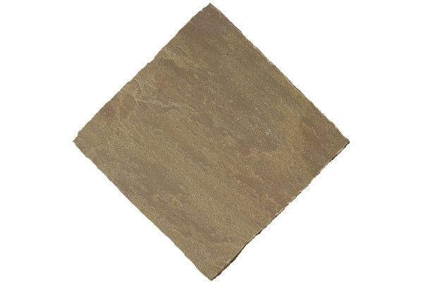 Bradstone - Natural Sandstone Paving - Autumn Green - Circles