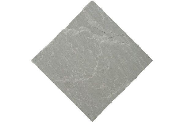 Bradstone - Natural Sandstone Paving - Silver Grey - Patio Pack