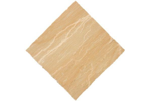 Bradstone - Natural Sandstone Paving - Sunset Buff - Circles