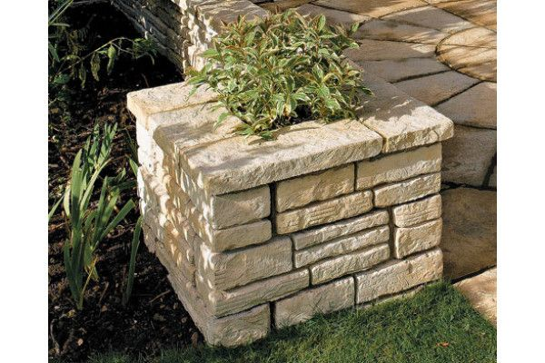 Bradstone - Old Town Walling - Weathered Limestone - Coping