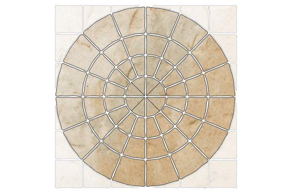 Bradstone - Old Town Paving - Weathered Limestone - Circles