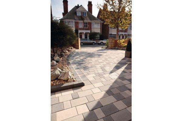 Bradstone - Block Paving - StoneMaster - Granite Grey Look - Mixed Sizes Packs