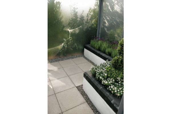 Bradstone - Textured Paving - Buff - Single Sizes (Individual Slabs)