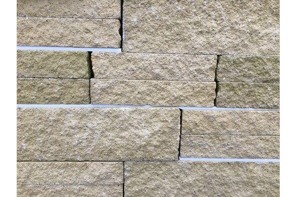 Split Face Walling Blocks - Buff