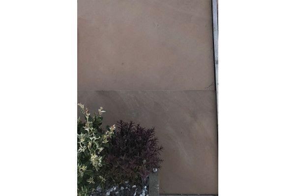 Indian Sandstone Paving - Polished Caramel Beige - 900 x 600mm - Slab