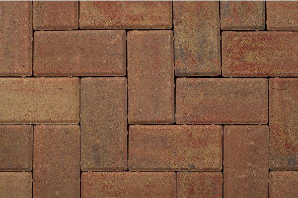 Castacrete - Driveway Block Paving - Autumn Mix - 200 x 100mm