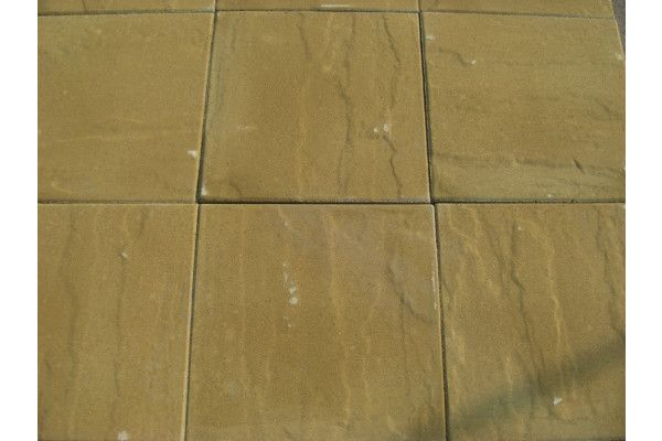 Cemex - Dovedale Riven Paving - Buff - 450 x 450mm - Individual