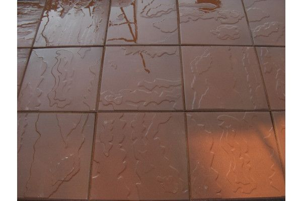 Cemex - Dovedale Riven Paving - Red - 450 x 450mm