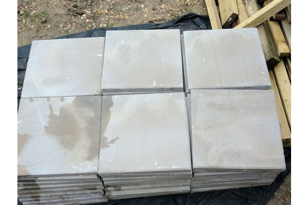 Cemex - Dovedale Riven Paving - Grey (Natural) - 450 x 450mm - Individual