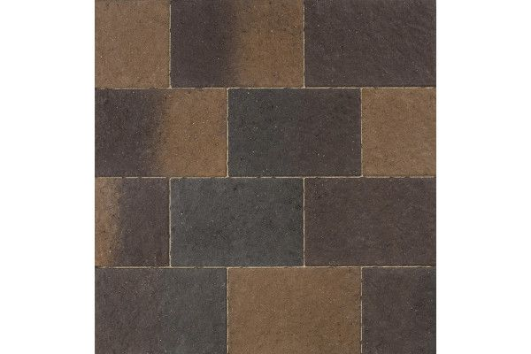 Marshalls - Concrete Driveway Block Paving - Drivesett Coppice - Cedar Blend
