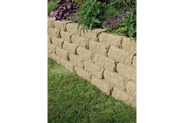 Marshalls - Croft Stone - Walling - Buff - 300 x 170 x 100mm - Individual Blocks