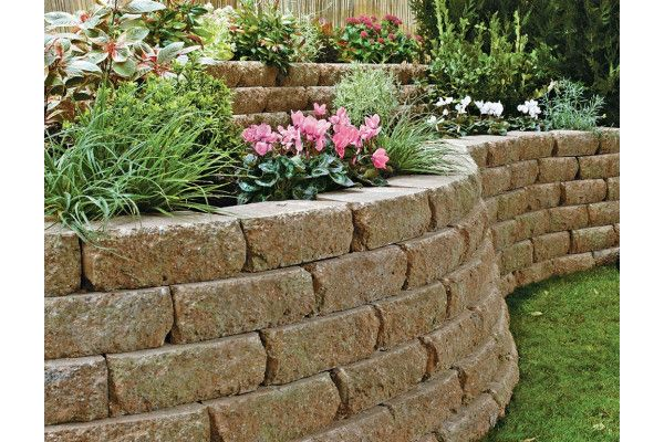 Marshalls - Croft Stone - Walling - Weathered - 300 x 170 x 100mm - Individual Blocks