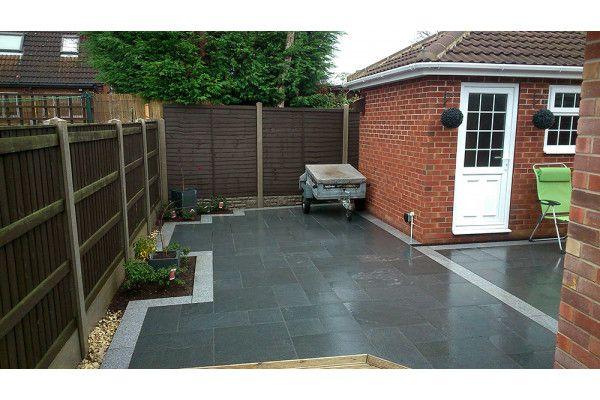 Wet Dark Grey Granite