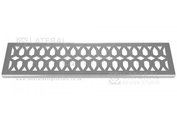 Aquascape - Drainage Channel Cover - Stainless Steel Grate - Diamond