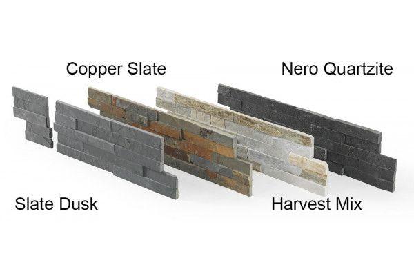 Stonemarket - Exilis Walling Splitface - Nero Quartzite