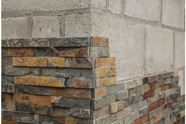 Stonemarket - Exilis Walling Splitface - Copper Slate