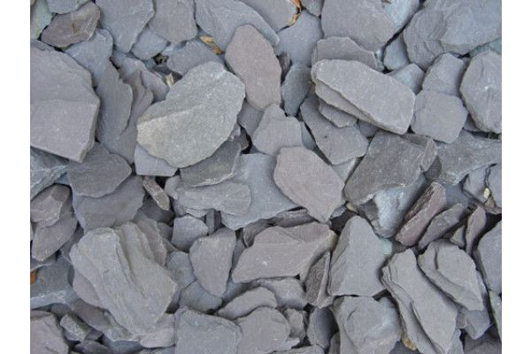 Plum Slate Chippings - 40mm