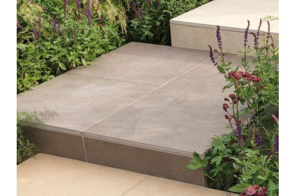 Stonemarket - Fortuna Vitrified Paving - Bronze - Project Pack