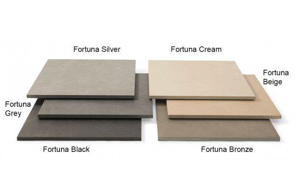 Stonemarket - Fortuna Vitrified Paving - Grey - Project Pack