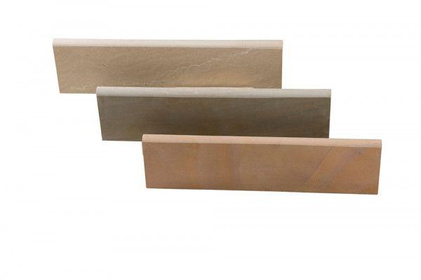 Global Stone - Bullnose Edgings - Modak Rose - 560 x 140mm - Individual