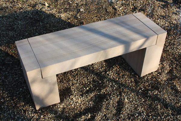 Global Stone - Features Collection - Sandstone - Classic Bench