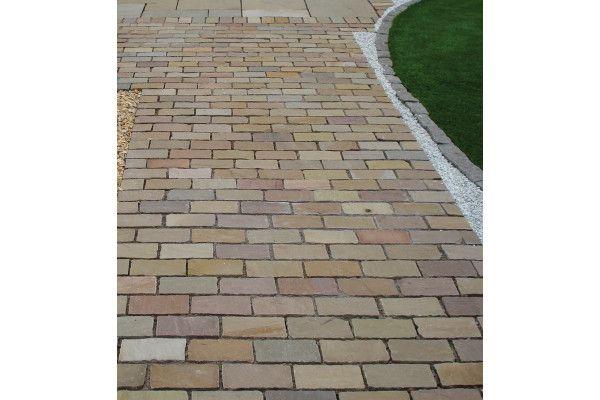 Global Stone - Pathway Setts - Autumn Blend - 200 x 100mm