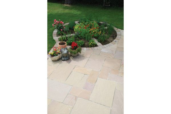 Global Stone - Sandstone Collection - Buff Brown - Single Sizes (Individual Slabs)