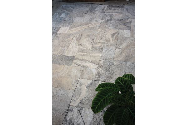 Global Stone - Travertine Collection - Pewter Paving - Project Pack