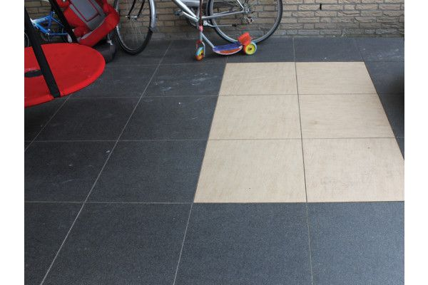 Global Stone - Petrous Collection - Ceramic Paving - Wheat - 600 x 600mm - Individual Slab