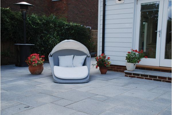 Global Stone - Polar Granite Paving Collection - Silver Grey - Single Sizes
