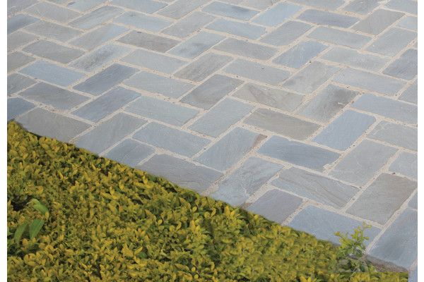 Global Stone - Old Rectory - Victorian Pavers - York Green
