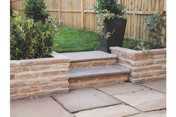 Global Stone - Old Rectory - Walling - Modak Rose - Blocks