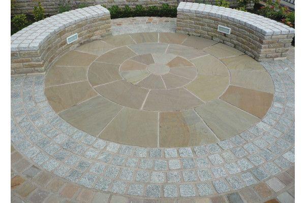 Global Stone - Old Rectory - York Green - Circles