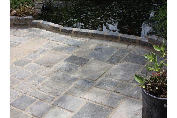 Global Stone - Old Rectory - Cobbles - Monsoon Black - Project Pack