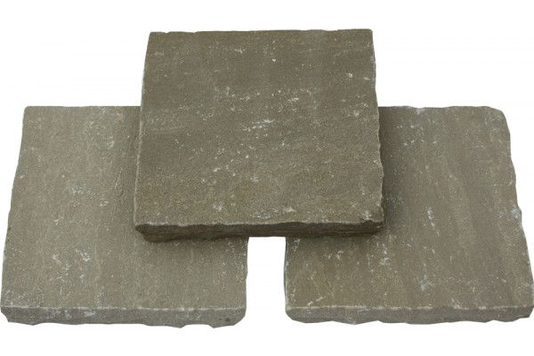 Global Stone - Pathway Setts - York Green - 150 x 150mm