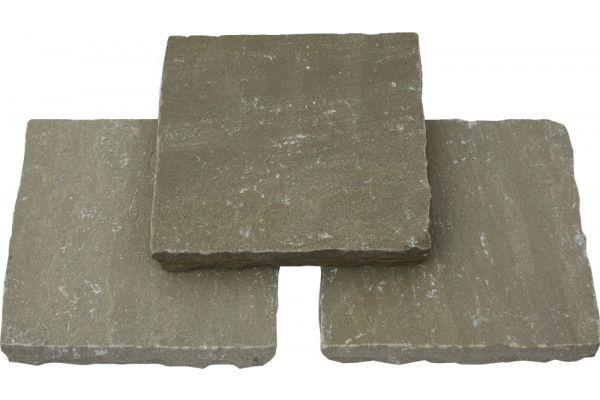 Global Stone - Pathway Setts - York Green - 150 x 150mm - Individual