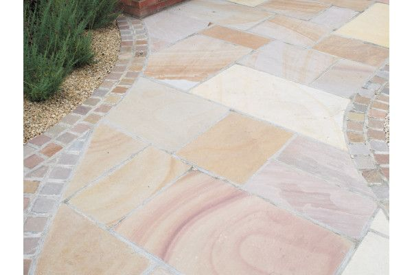 Global Stone - Sandstone Collection - Buff Brown - Circles