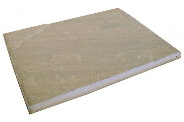 Global Stone - Sandstone Bullnose Flags - York Green - 560 x 422mm