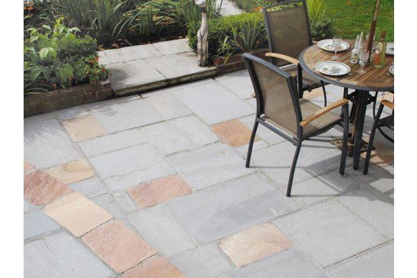 Global Stone - Sandstone Collection - Castle Grey - Circles