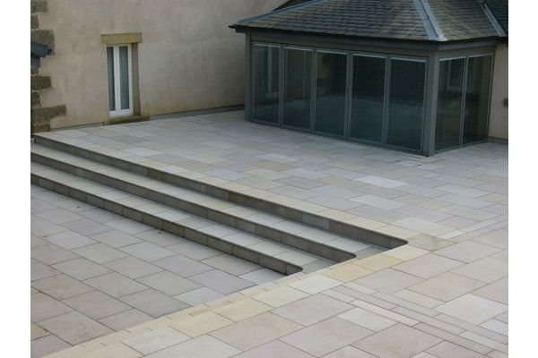 Global Stone - Artisan Collection - Serenity Bullnose - York Green - Copings / Steps