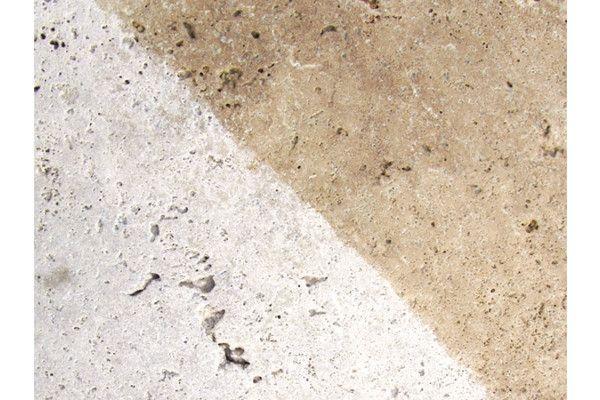 Global Stone - Travertine Collection - Antiqued Warm Walnut Paving - Single Sizes (Individual Slabs)