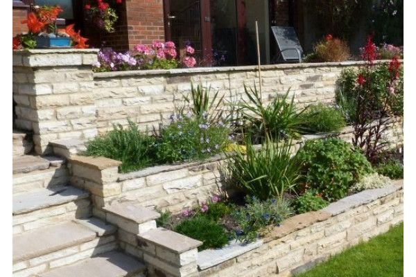 Natural Paving - Cottagestone - Copings - Golden Fossil (Individual Copings)