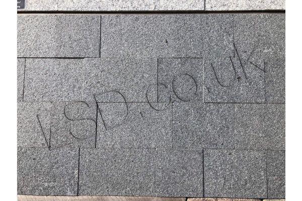 Natural Granite Sawn Block Paving Setts - Dark Grey - Project Pack - 1m2