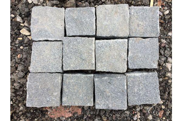 Granite Cobbles (Setts) - Dark Grey