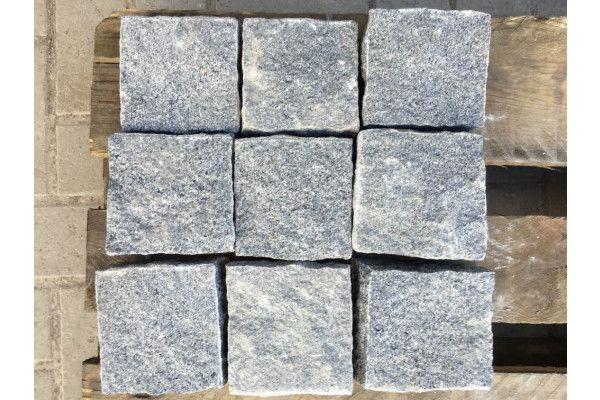 Granite Cobbles (Setts) - Dark Grey - Individual Blocks