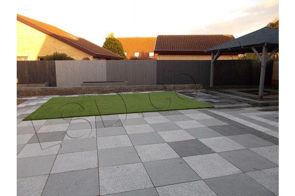 Natural Granite Paving - Light Grey - Single Sizes