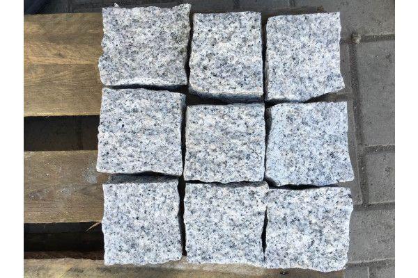 Granite Cobbles (Setts) - Light Grey
